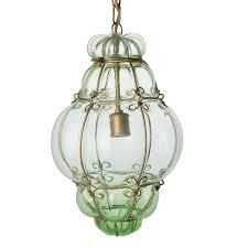 seguso murano glass cage pendant light