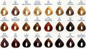 Brown Hair Color Chart Wella Shade Selection Guide Sophie