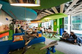 google office irvine 1. DB: Were There Specific Requirements Or Themes That Google Wanted You To Maintain Across Each Office Site? Irvine 1