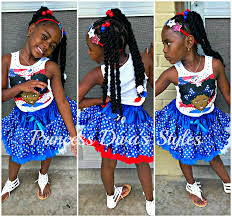 Fourth Of July Hairstyles Princess Diva 4th Of July Hair Style Ootd Youtube