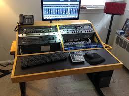 home recording studio desk minimalist diy diy recording studio equipment design ideas gallery and diy