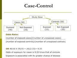 case control studies  9 case control study