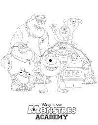 Small Picture Monsters University Coloring Pages In Best Of zimeonme