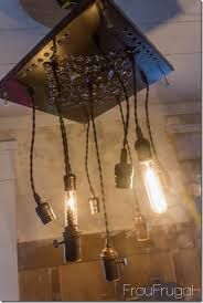 how to make a bare edison bulb chandelier a light switch wiring circuit testing bare edison