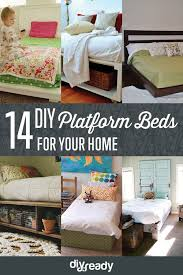 diy hacks for your home. 14 diy platform beds | projects\u0027s ingenious hacks for home improvement diy your o