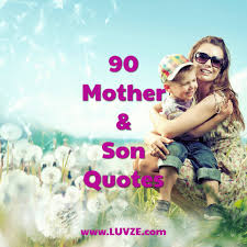Mother Son Quotes Impressive 48 Cute Mother Son Quotes And Sayings