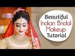 beautiful indian bridal makeup tutorial