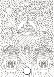 Starbucks Coloring Pages To Print Activity Shelter