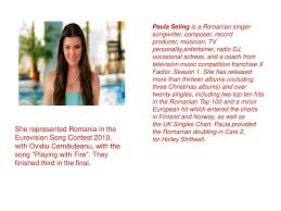 Romanian Personalities Ppt Download