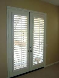 blinds for back door back door window blinds for