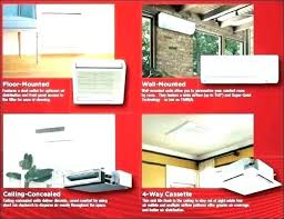 mitsubishi air conditioner cost. Ductless Air Conditioners Conditioning Systems Cost Mitsubishi Split Adorable Ceiling Conditioner Lovable 8