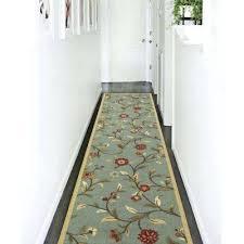 green runner rug teal