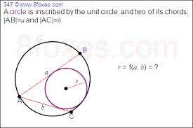 a hard geometry problem on circles mathematics stack exchange enter image description here