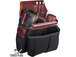 occidental leather 8068 impact and drill bag leather newegg com