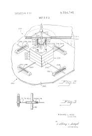 Mechanical electrical medium size patent us3784746 single actuator for effecting multiple controls drawing tank circuit