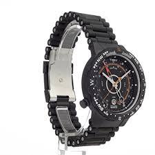 """timex men s t2n723 intelligent quartz adventure series tide temp temp compass black ip bracelet watch ï"""""""" ï""""…"""