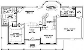apartments. house plans 4 bedroom 3 bath: Bedroom Bath House Plans ...