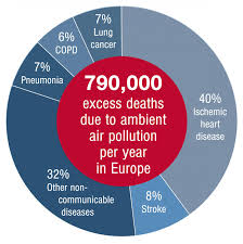 Air Pollution Causes 800 000 Extra Deaths A Year In Europe