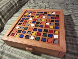 Wooden Sudoku Game Board ColorBased Wooden Sudoku Board 100 Steps with Pictures 33