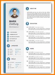 How To Get Resume Template On Word 50 Cv Resume Cover