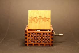Engraved Wooden Music Box Game Of Thrones Engraved wooden music box Harry Potter Theme Invenio Crafts 86
