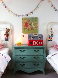 Retro Teenage Bedroom The Boo And The Boy Vintage Inspired Shared Girls Room Kid
