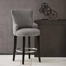grey counter stools with nailheads.  With Throughout Grey Counter Stools With Nailheads Y