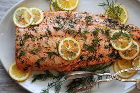 cooked salmon fillet.  Salmon For Cooked Salmon Fillet