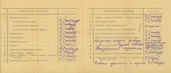 Музей пермской нефти Личные фонды НГДУ Полазнанефть  Выписка к диплому об окончании Молотовского нефтяного техникума Л 01об 1957 г
