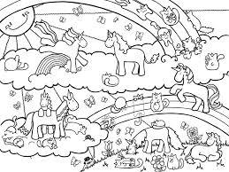 Unicorn Color Pages For Children Activity Shelter