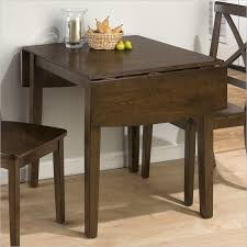 creative of drop leaf dining table sets with jofran double drop leaf dining table in taylor brown cherry leaf