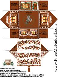 Gingerbread House Candy Template Printable Download Them Or Print