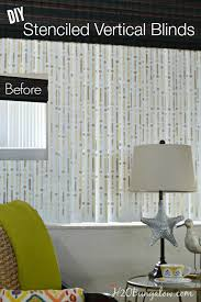 DIY-stenciled-vertical-blinds-tutorial-with-Royal-Design-