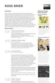 Freelance Web Designer Resume samples