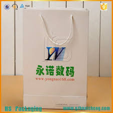 cheap paper bags logo buy cheap yellow amp black color customized logo promotional paper bags glossy lamination product dhgate com