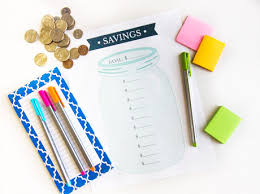 Our Money Making Month A Free Printable Savings Goal