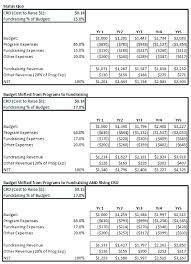 8 Non Profit Budget Templates Word Excel Free Premium Free