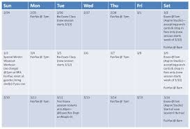 Quick Note About Week Of March 3 2012 Boot Camp With Lsd