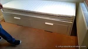 Ikea brimnes day trundle bed design youtube