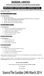 marketing officer s officer computer and cashier tayoa job description