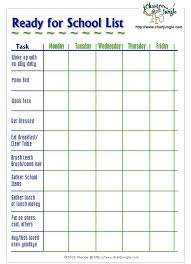 Adhd Morning Routine Chart Pin On Time Organization