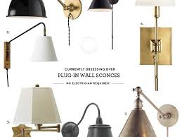 bedroom mesmerizing plug in wall light fixtures along with 1000 ideas about bedroom sconces on