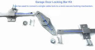 garage door lock. Garage Door Lock Bar Kit For Upto 8 Foot Wide I