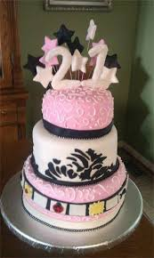 21st Birthday Cakes Female A Birthday Cake
