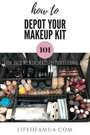 professional makeup artist kit how to depot your makeup kit
