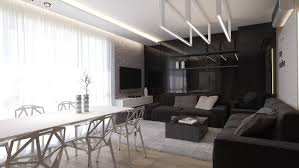White And Black Living Room Sweet Black Living Room With Mesmerizing Effect Of The Opposite