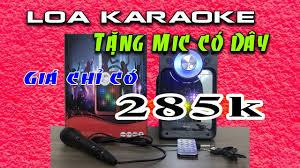 Loa hát karaoke mn03 công suất 60W âm thanh hay