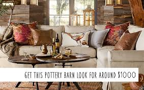pottery barn knock off furniture. Pottery Barn Knockoff Fall Living Room On Budget Intended Knock Off Furniture