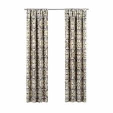 60 inch wide curtains. Elena Geometric Blackout Rod Pocket Single Curtain Panel 60 Inch Wide Curtains