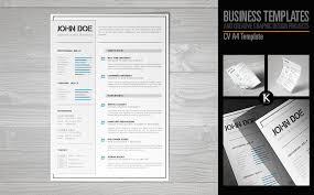 Indesign Resume Inspiration 3419 CV A24 Format InDesign Resume Template 24